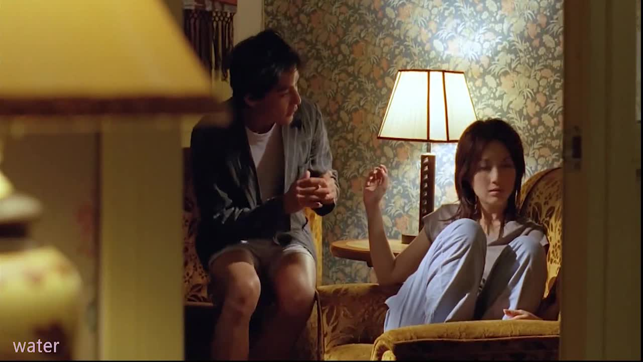 #高能 电影片段 #吴彦祖和杨千嬅激情戏部分,哇要不要这么露骨啊