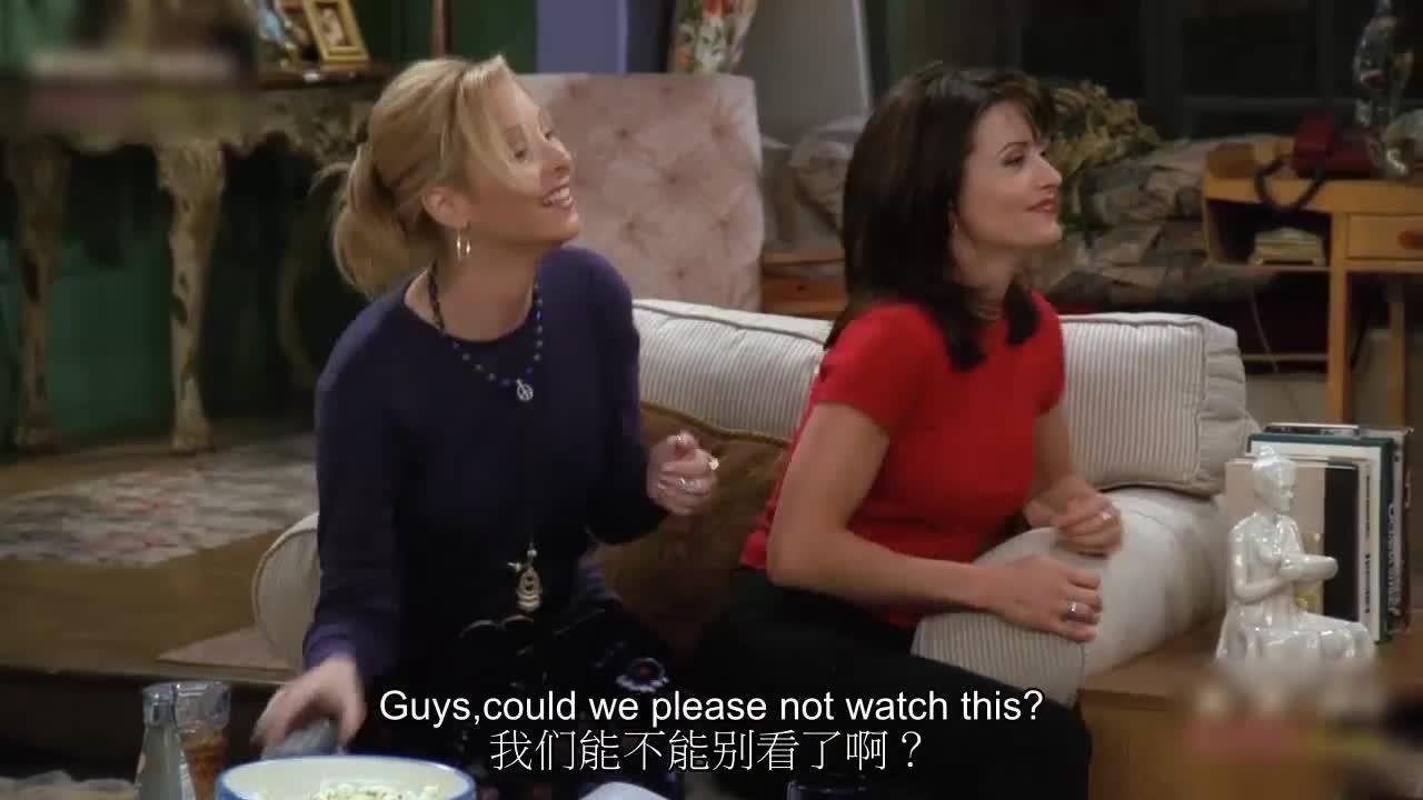 男子演的节目播出,朋友们正在看,男子却这么说