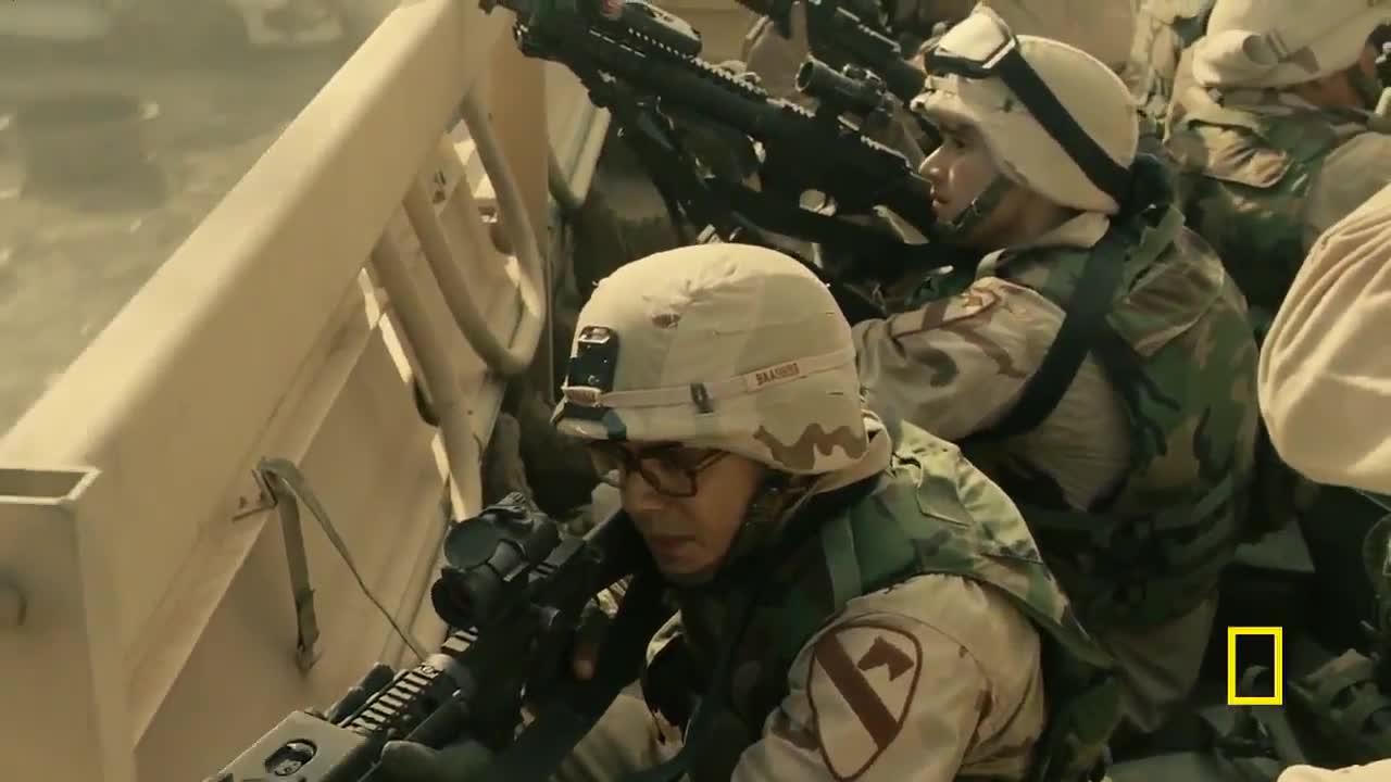 最新战争片,伊拉克RPG这样瞎打,能打中美军只能靠运气了