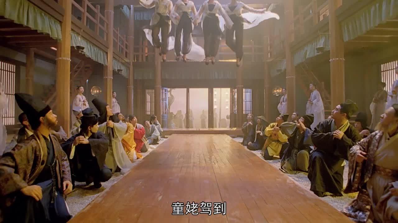 #经典看电影#林青霞要和巩俐争天山童姥的位子,两人的动作真是美轮美奂