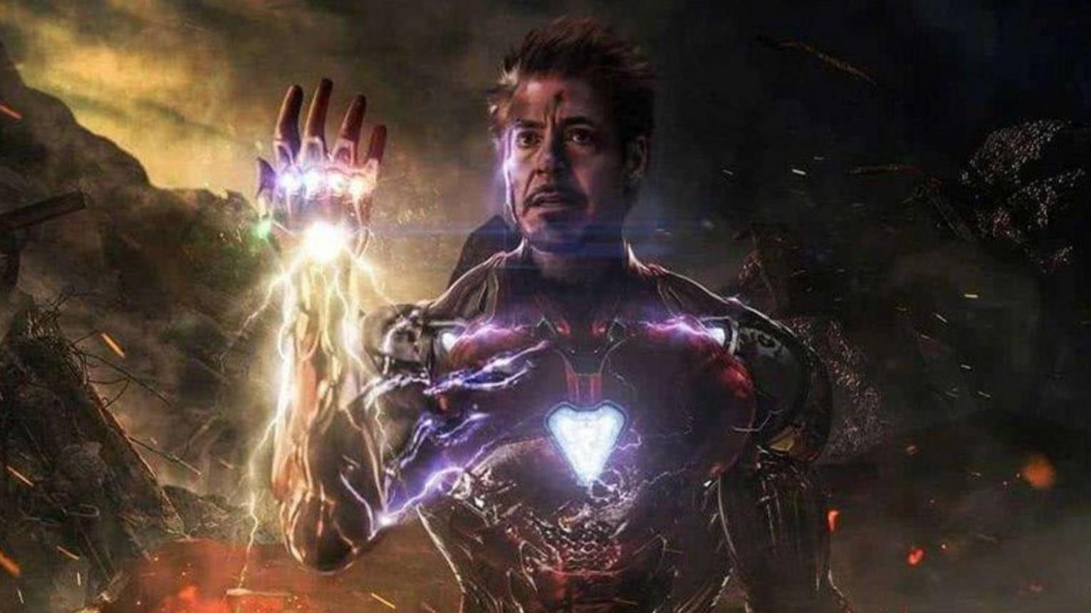 #钢铁侠与灭霸有何差距#《复联4》浩克打完响指胳膊废了,超级英雄钢铁侠为何却没变化?