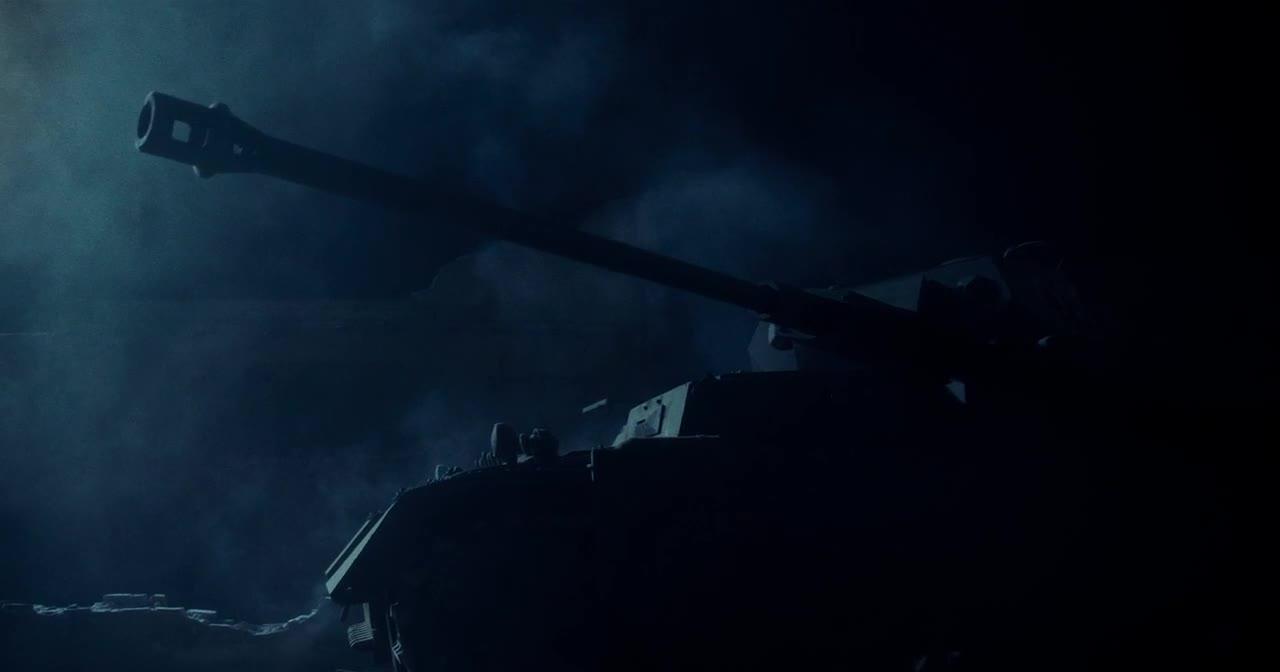 美军用轻机枪伏击德军坦克部队,直接被坦克炮炸飞
