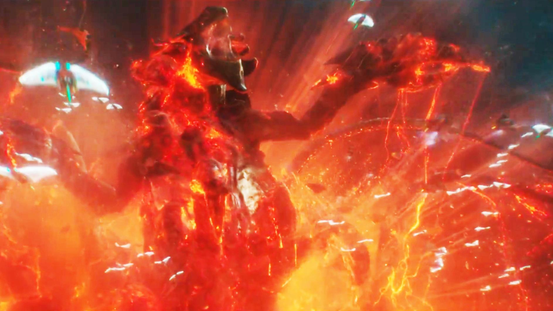 #DC#温子仁《海王》终极预告,史诗大战!视效炸裂!深海巨兽亮相!
