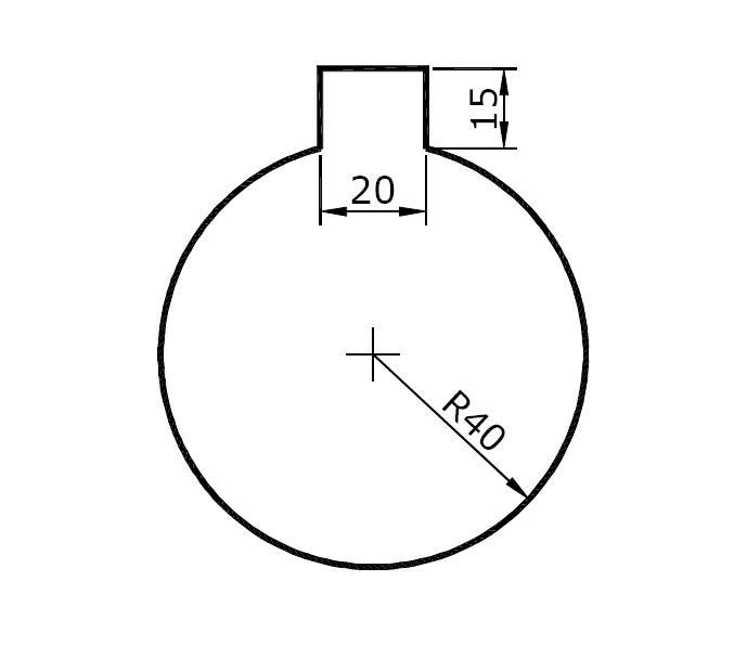 CAD教程--AutoCAD几何符号作图视频教学.案cad怎么画v教程基础中图片