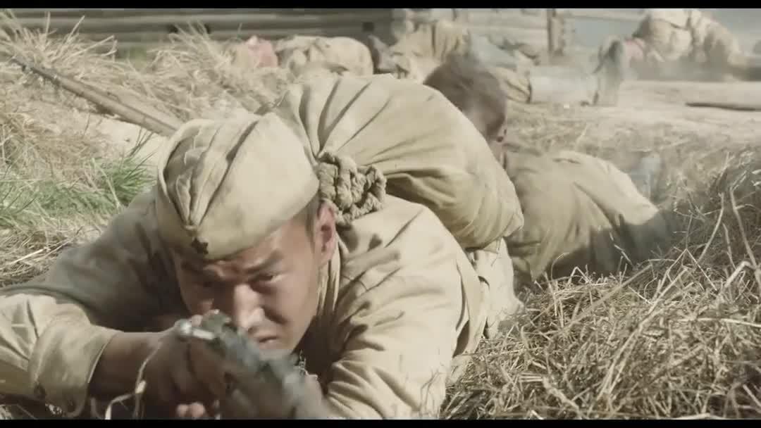 德军有MG42机枪和狙击手,阻击苏联红军乌拉冲锋