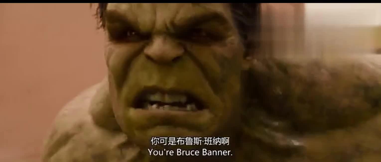 #经典看电影#绿巨人被说头顶绿很生气了