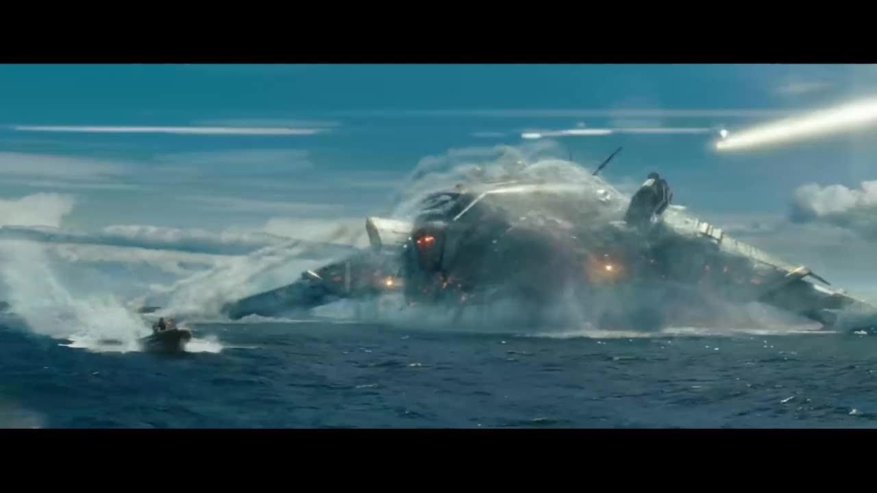 美国海军大战外星人,外星人武器太猛顶不住