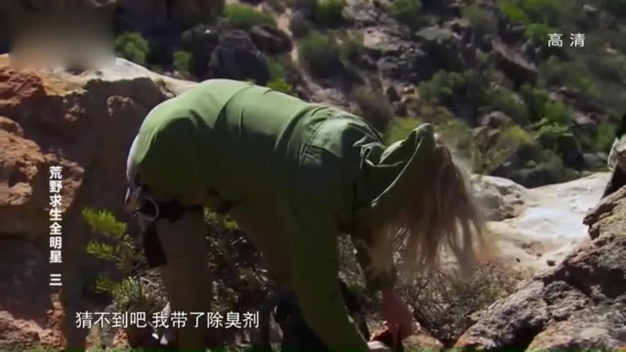 荒野生存,贝尔教怎么用天然材料制作除臭剂,这么神奇。