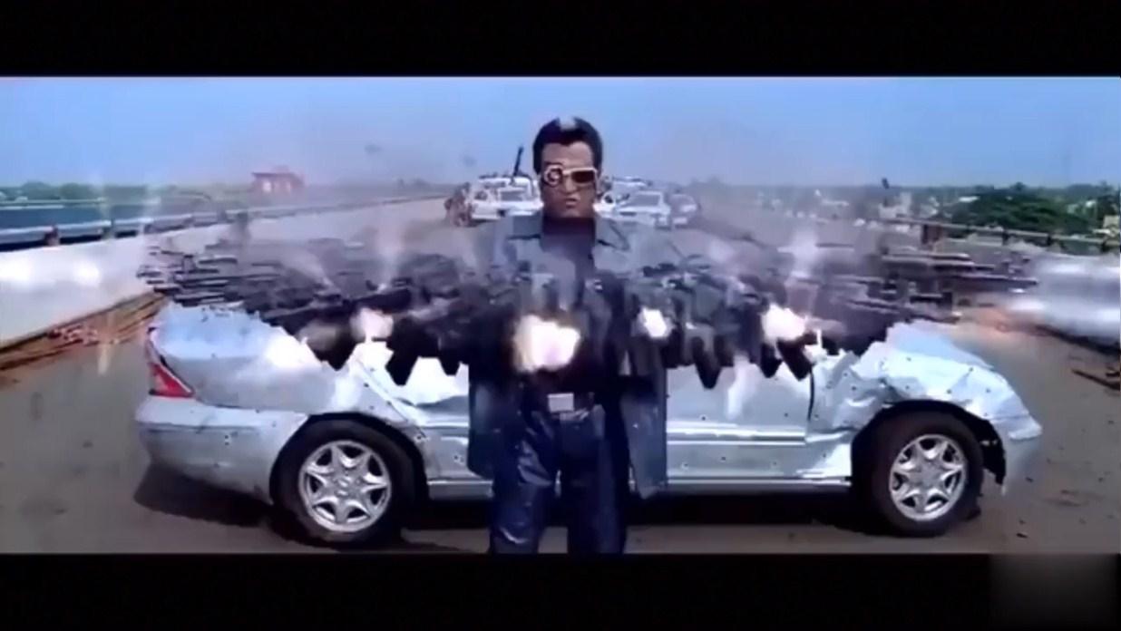 #神剧#印度神剧神到什么地步?枪支可以任意组合,头也可以180度回转