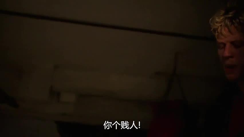 绑匪与女警司地下室搏斗,都是狠角色,这画面太惨了