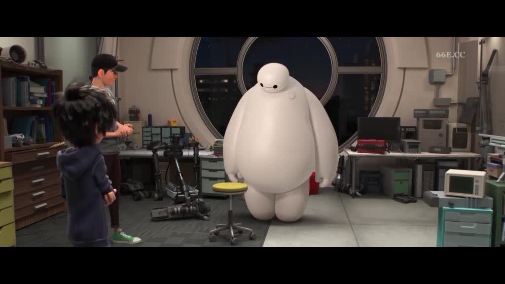 老哥一直研究的棉花糖机器人,为何叫他大白,难道因为他白吗
