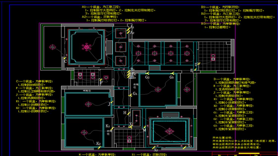 【室内设计】画好CAD施工图的第一步,在于正房屋设计图工具知乎图片