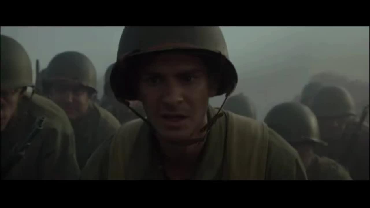 好不容易爬上山,美军却遭遇日军反冲锋
