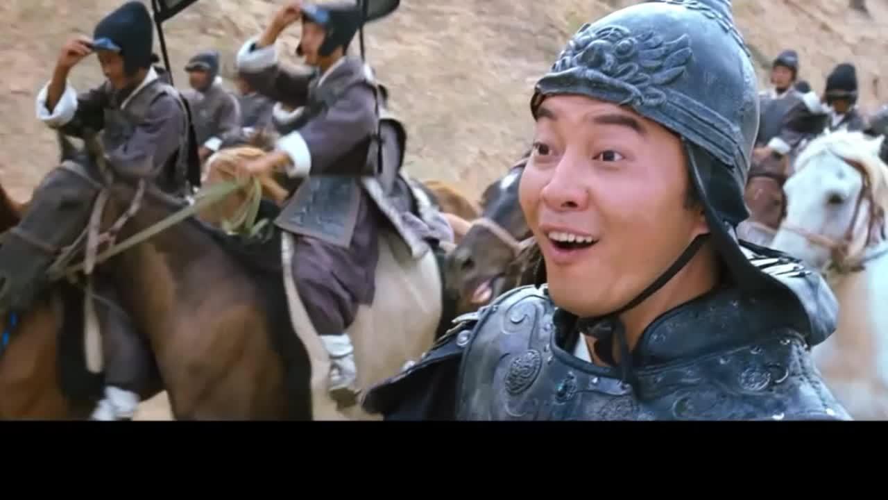 越光宝盒名场面,美女变老妪谁能扛得住,战士们直接落马无一幸免