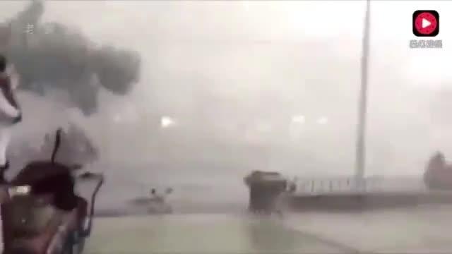 """广东最强台风""""天鸽"""",到底多厉害,看完你就知道了!"""