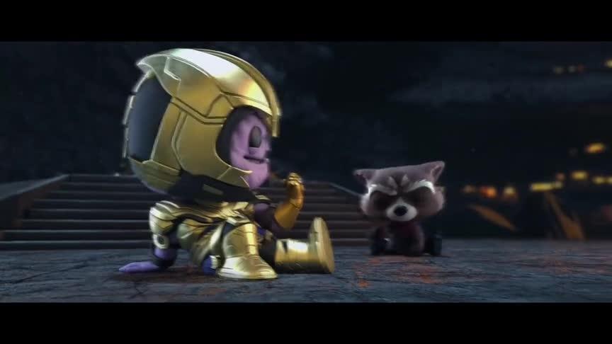 #复仇者联盟4#《复仇者联盟4:终局之战》 Funko版宣传片