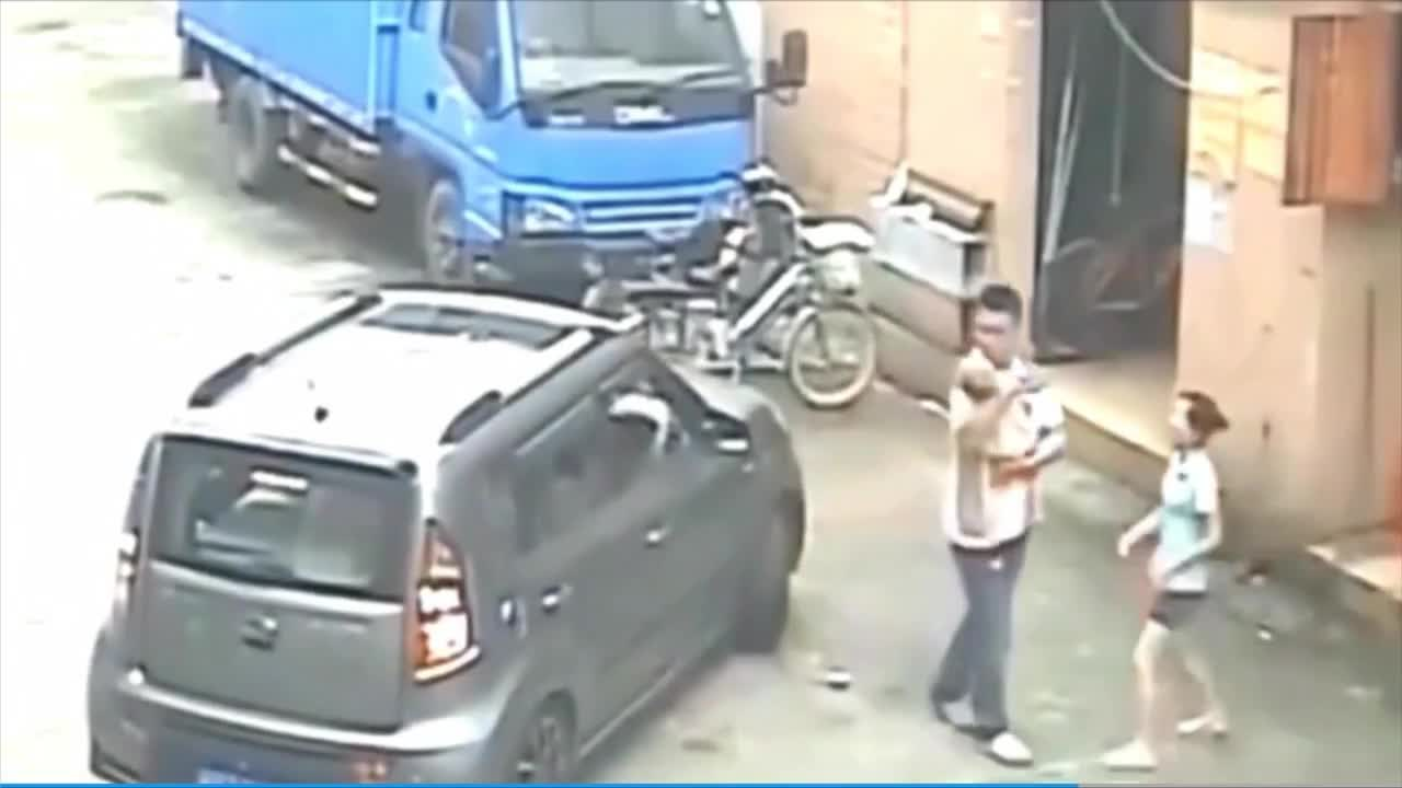 #车祸#家长们一定要警惕汽车盲区,不要让悲剧一再上演
