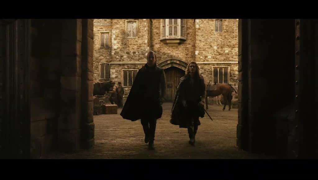 牛津伯爵和南安普敦,讨论扶持谁上王位,达成谨慎共识