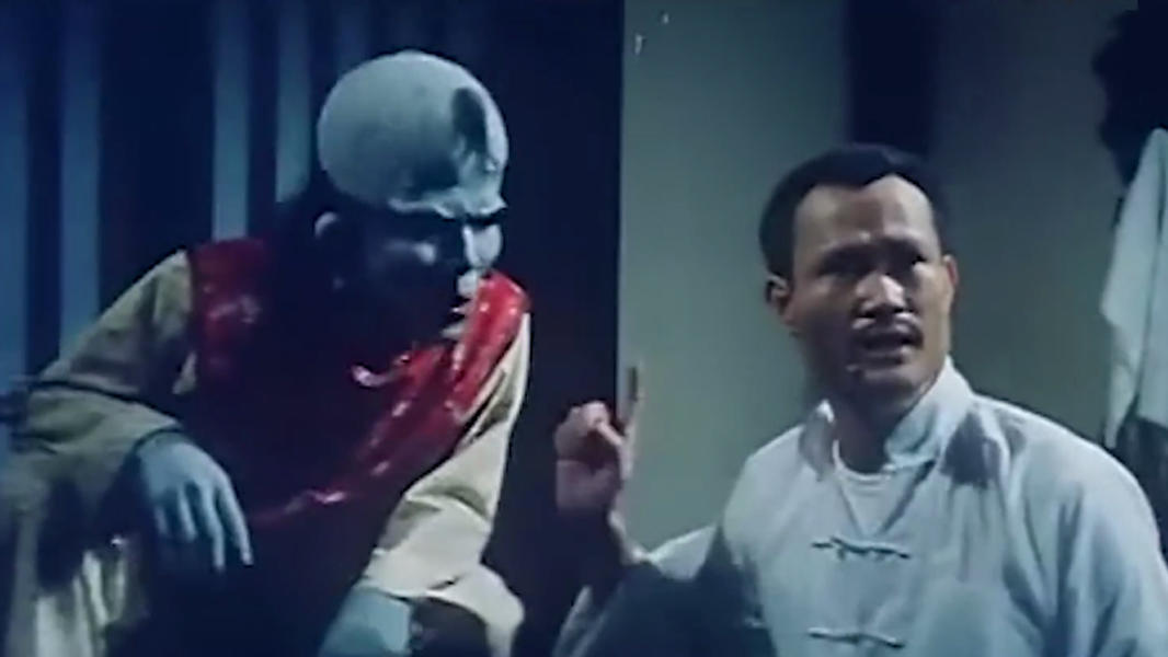 #经典看电影#林正英经典僵尸片:唯一不怕林正英的恶鬼,靠祖师爷显灵才消灭