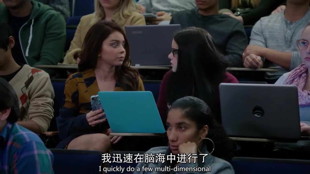 妹妹上课,姐姐这是来捣乱吗,教授都发火了