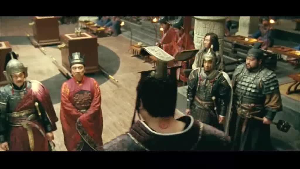 文武将臣给大王进谏,吵了起来,到底该如何让抉择