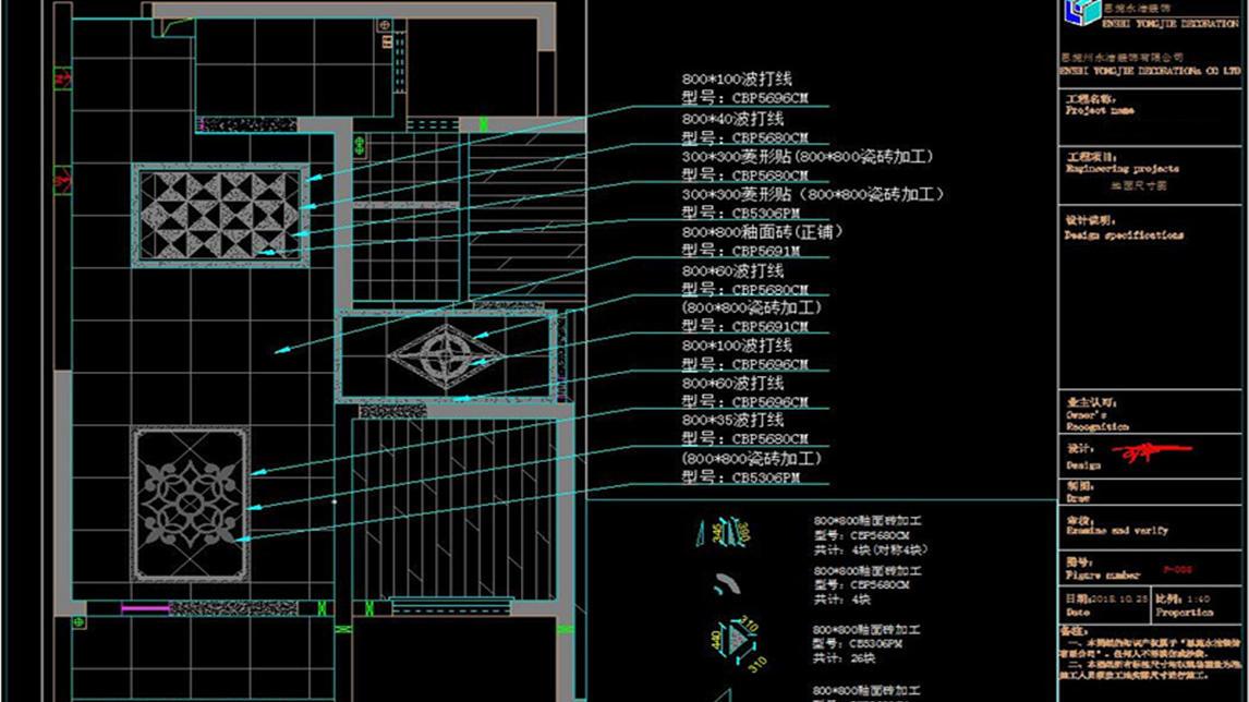 【室内设计】画好CAD施工图的第一步,在于正图纸一杆农村v图纸房屋图片