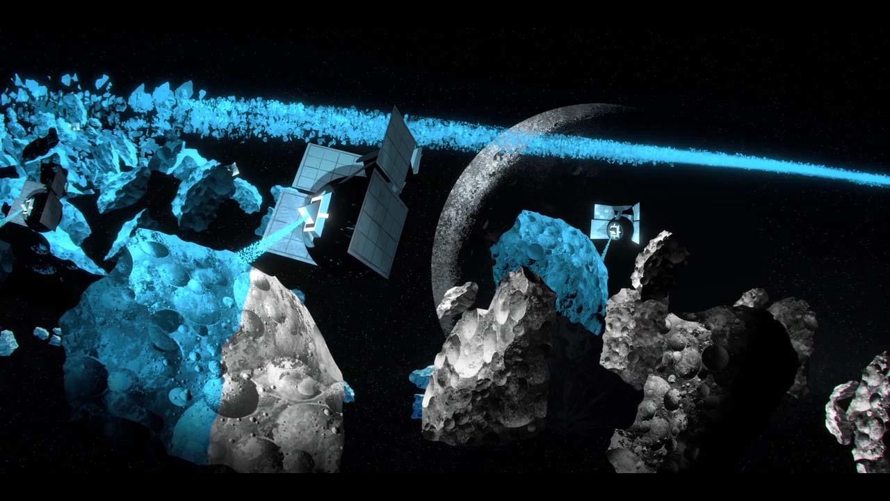 #猎奇电影#艺术家将银河系染成蓝色后,从中悟出了快乐的真谛!