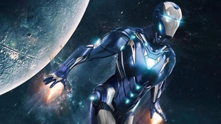 #超级英雄复仇时刻#《复联4》超级英雄复仇时刻,钢铁侠使出杀手锏,救援战甲上场