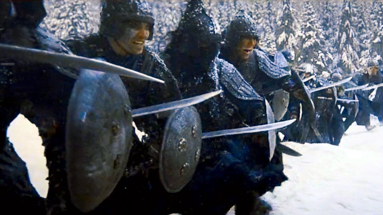 """#经典看电影#俄罗斯战争史诗巨作,蒙古士兵势如破竹,战场突现惊人""""熊出没"""""""