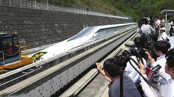 日本挑战中国高铁,发明时速600公里的列车,结果竟惨遭打脸