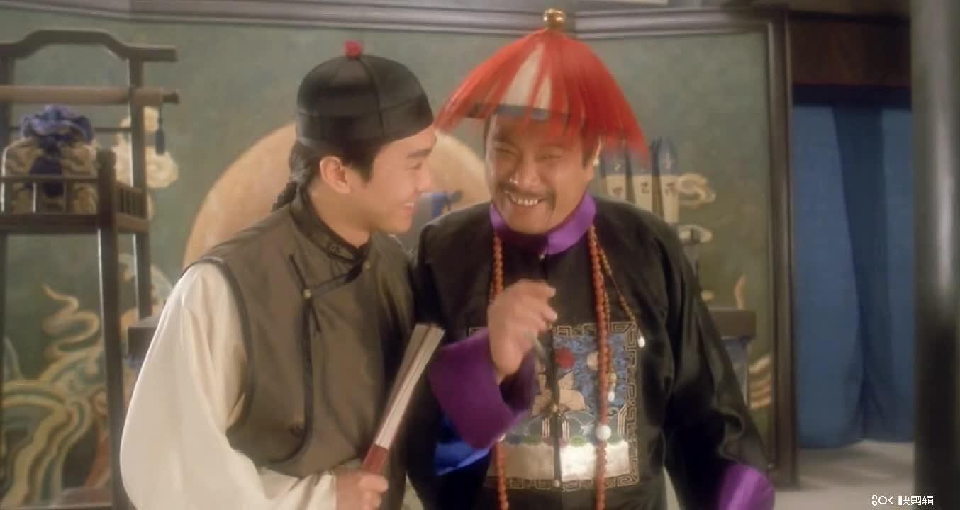#经典看电影#审死官中星爷和达叔第一次较量相当经典,针尖对麦芒最完美的搭档