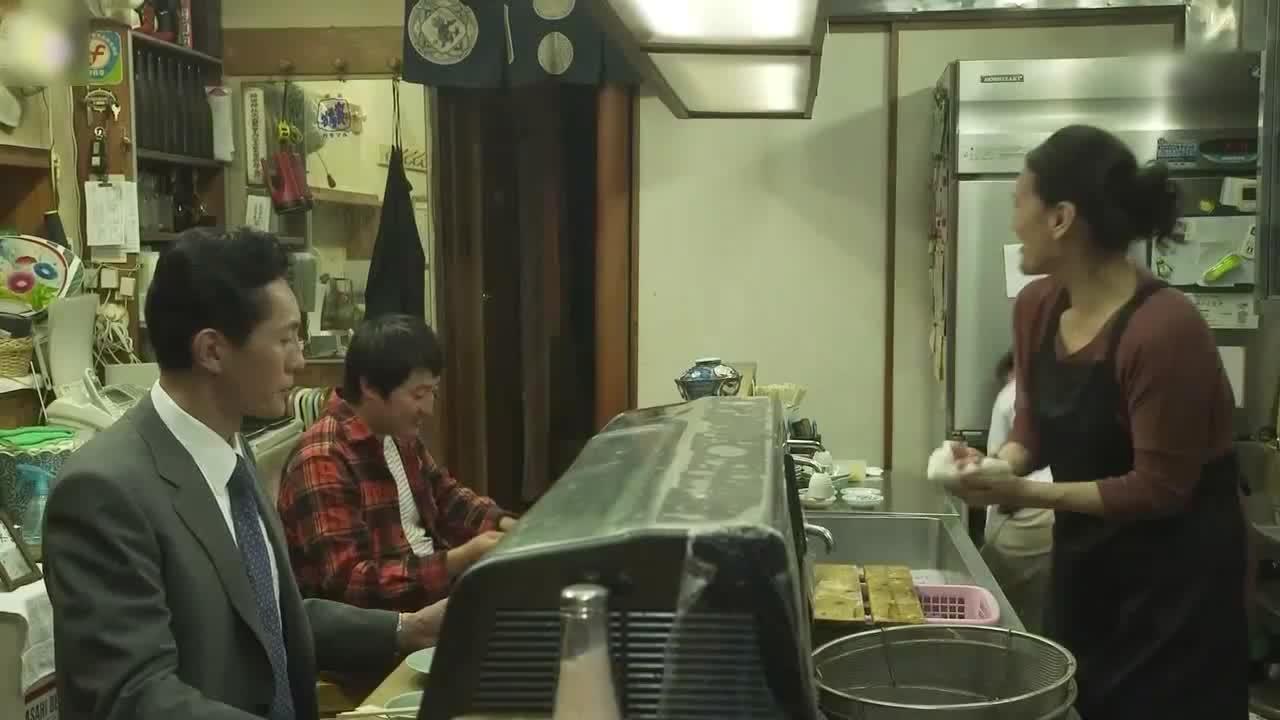 井之头五郎美食家,细细品尝天妇罗