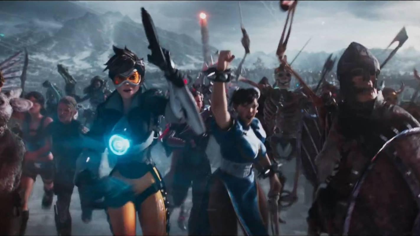 #科幻大片#几分钟看完科幻电影《头号玩家》,虚拟世界里有巨型高达和哥斯拉