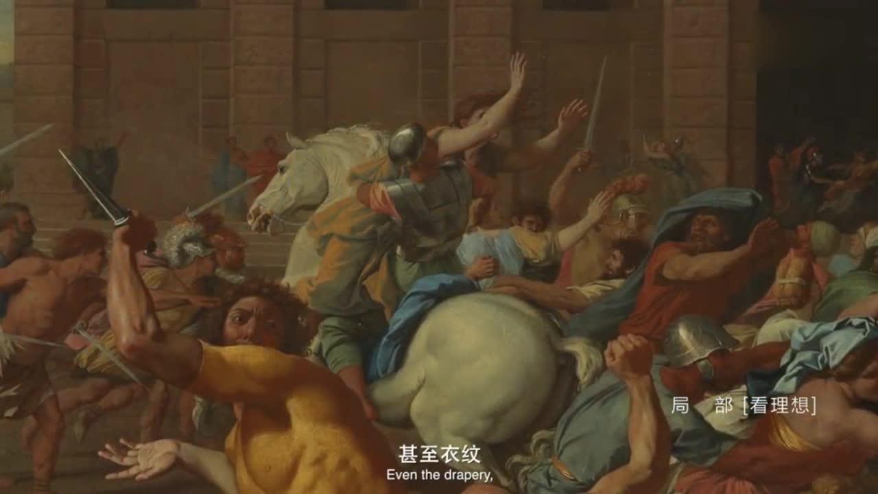 这个战争片油画,到底记录下来了什么?