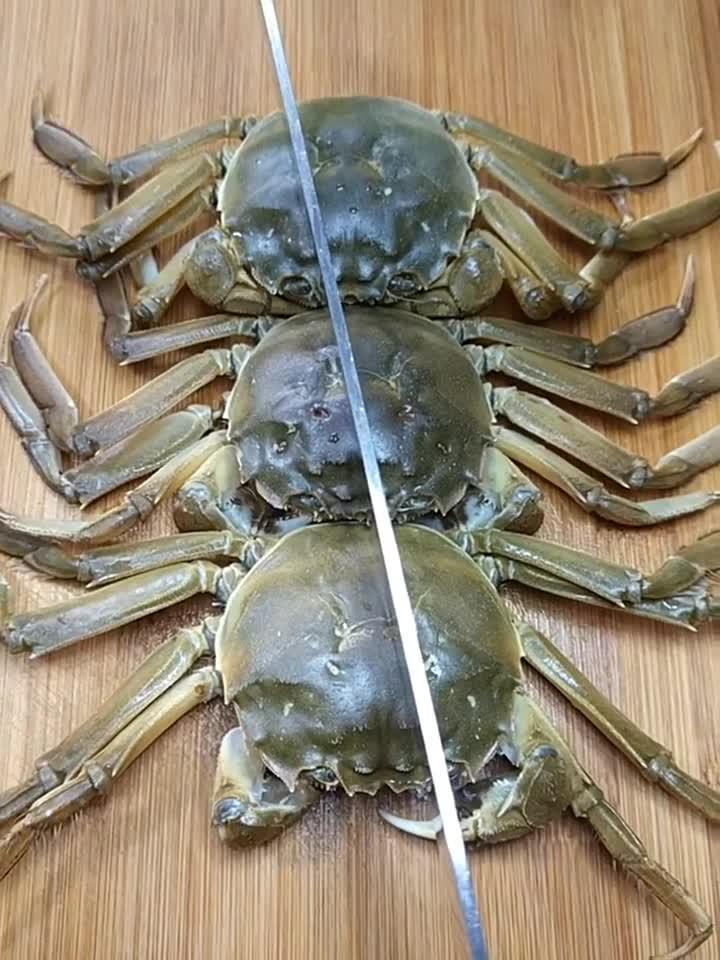#舌尖上的美食#酒店大厨不外传的螃蟹做法,好吃有营养,值得收藏