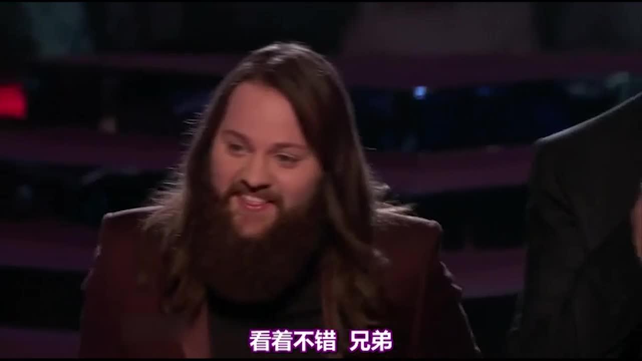 他的完美演唱,让乡村乐歌手布雷克都为之赞叹