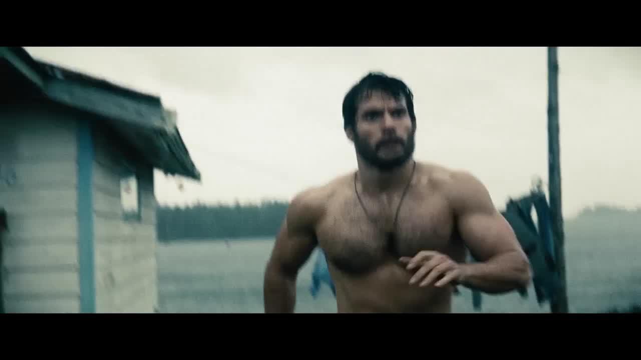 海底苏醒的超人,上岸就偷人衣服。。。