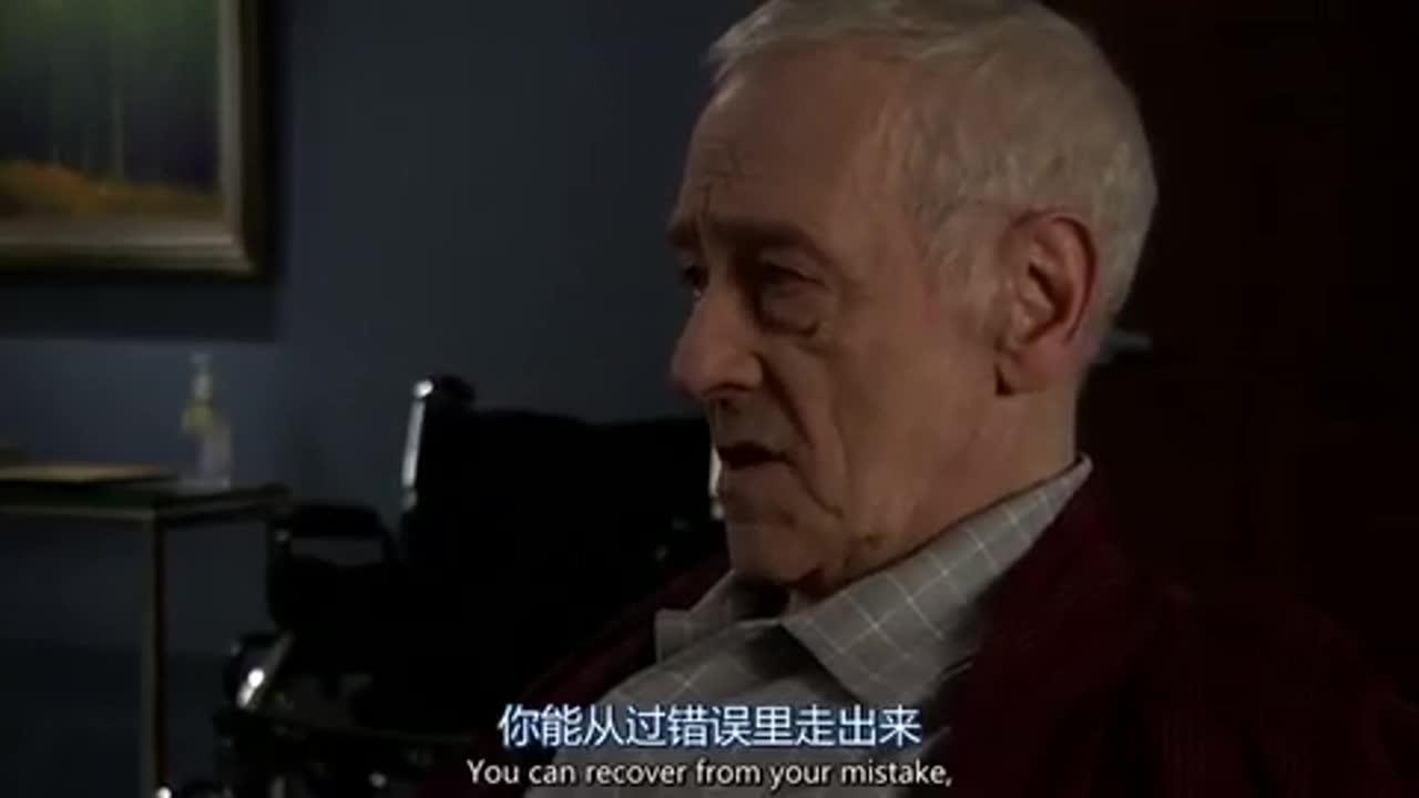 老人把死亡的惩罚强加给自己,男子一说,两人沉默了!