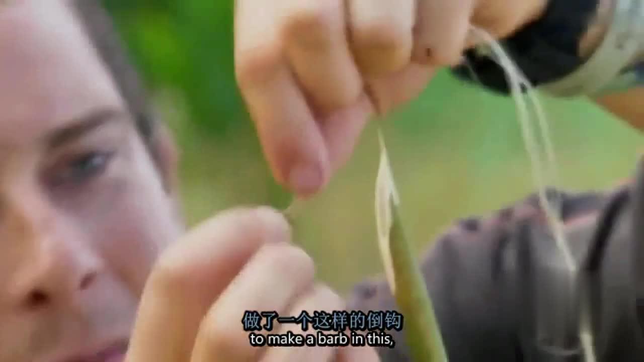 #趣味综艺# 贝爷自制弹簧箭,这操作能不服吗!