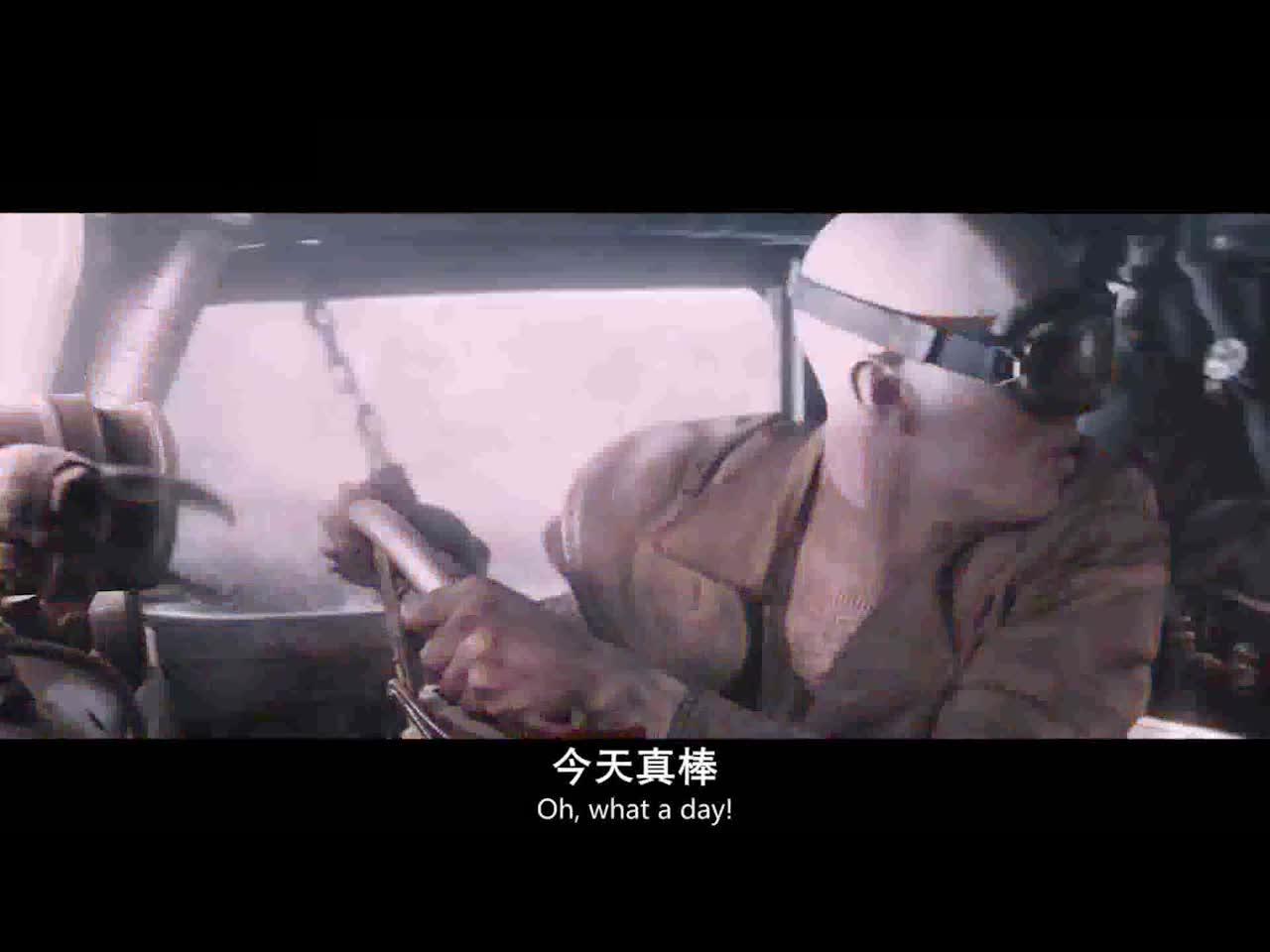 #高能 电影片段#不就是看到别人的车被暴风给摧毁了吗,老哥你在发什么神经