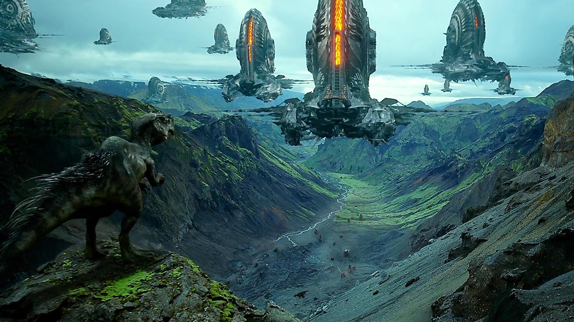 #电影最前线#6500万年前恐龙灭绝,变形金刚造物主投放种子炸弹毁灭地球