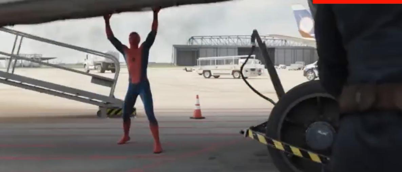 蜘蛛侠作为钢铁侠的接班人,虐美国队长还是很简单的