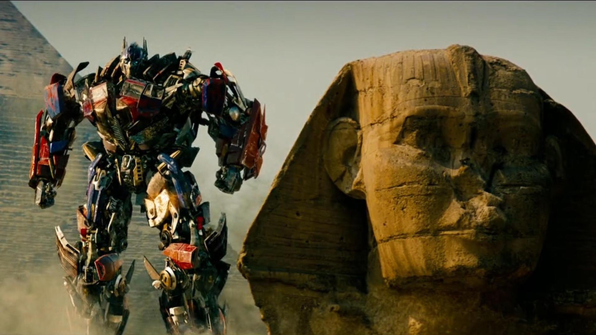 #电影最前线#埃及金字塔竟是变形金刚建造的,几分钟回顾变形金刚2时间线