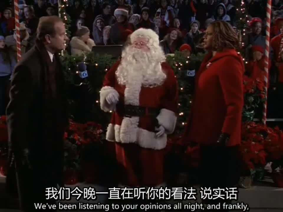 圣诞老人的精灵生病了,要吃糖果才能好,观众都做不住了