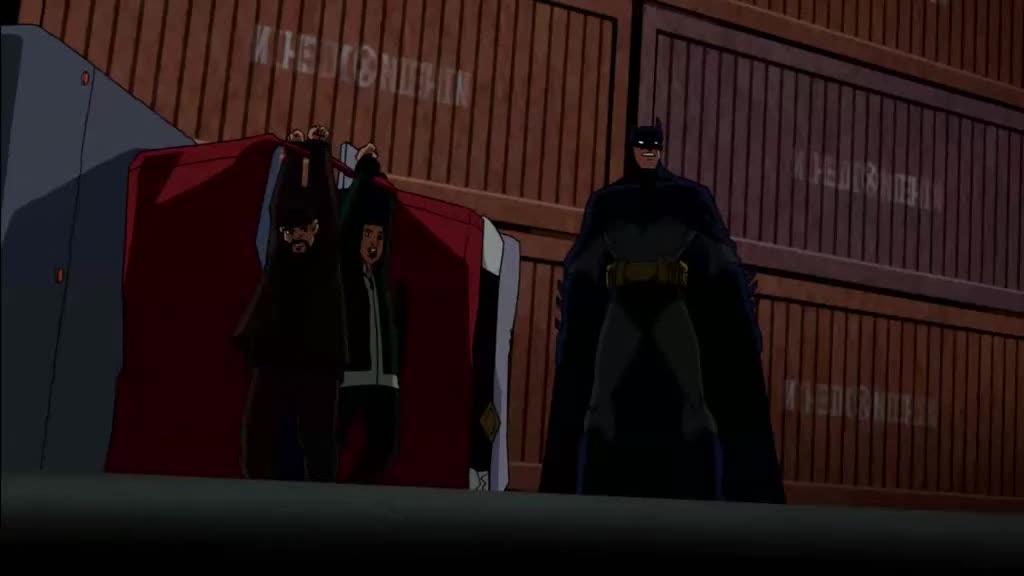 机器人太猛了,蝙蝠侠都解决不了,最后还是得靠队友