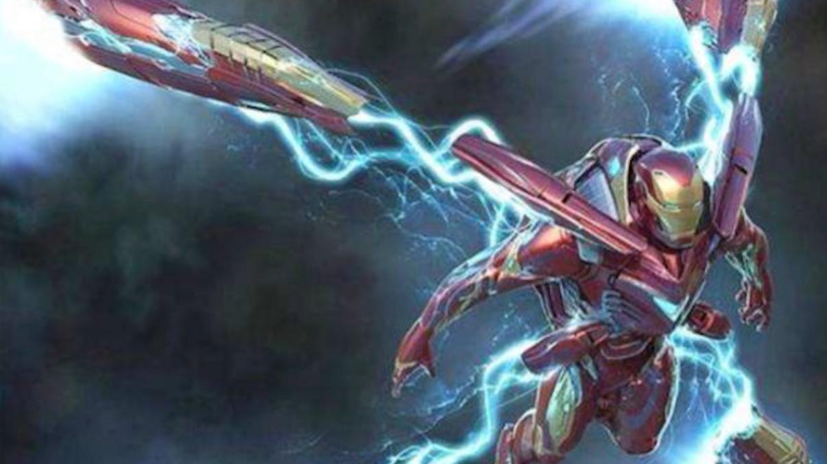 """#钢铁侠顶级战甲来袭#《复联4》钢铁侠""""顶级""""战甲来袭,每个触手都是推进器,灭霸凉"""