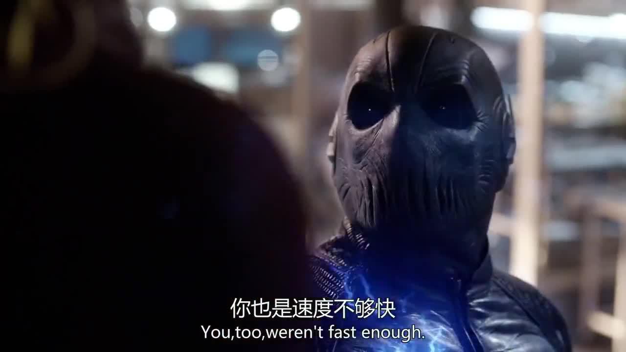极速完虐闪电侠,对着博士耀武扬威,却被西斯科用枪打跑
