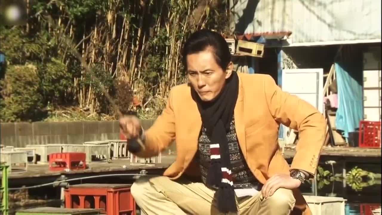 井之头五郎美食家,尝试钓鱼