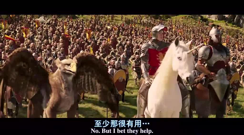 纳尼亚最后一战,人类王子率飞禽走兽,对战邪恶军队