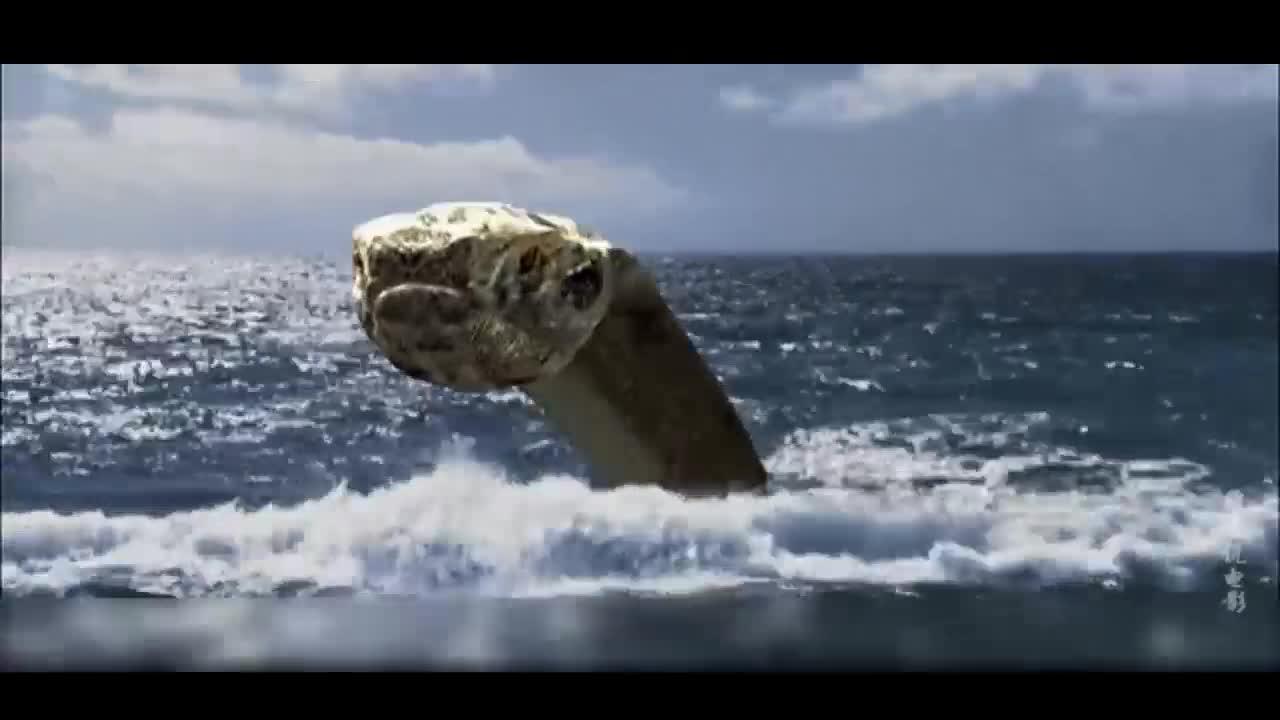 #经典看电影#科学家实验失败,导致巨蟒和蜥蜴生长迅速,岛上人遭到巨蟒袭击